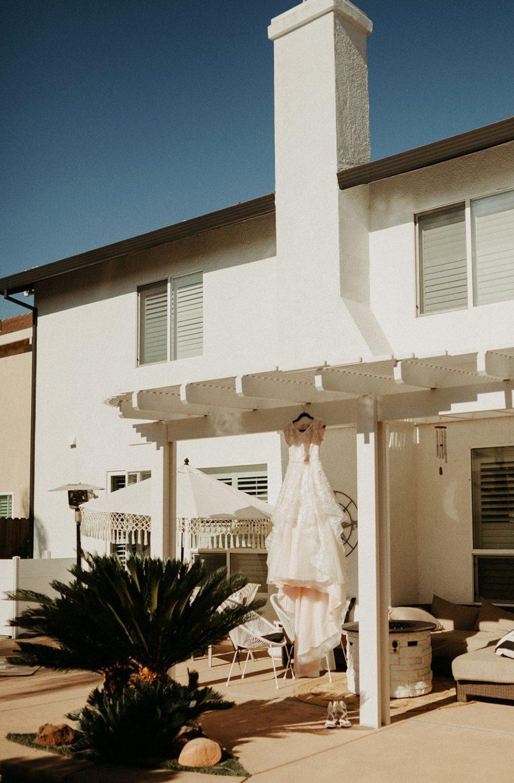 Summertime Backyard Wedding